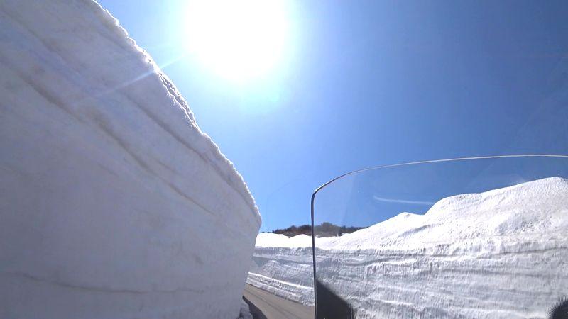 雪の回廊202104